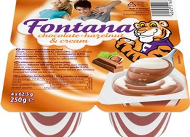Fontana Chocolate-hazelnut & cream dessert