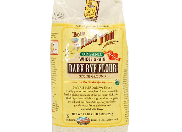 Organic Dark rye flour BOB'S RED MILL