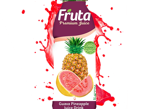 Fruta Guava/Pine Bottle 500ml