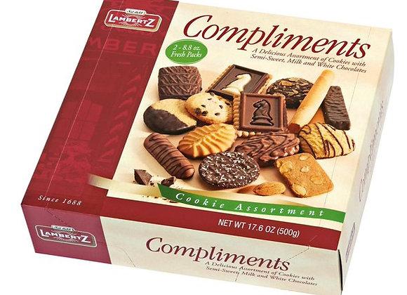 Compliments Assorted Box Cookies LAMBERTZ