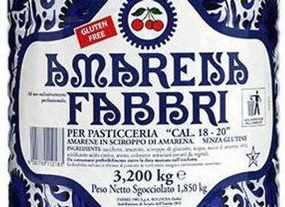 Amarena Brisures Wild Cherry (Pieces) in Syrup FABBRI