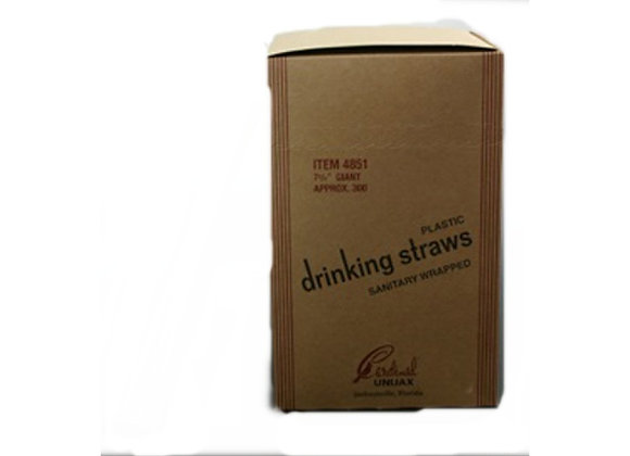 Wrapped Straw (Jumbo)priced per box