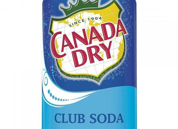Canada Dry- Club Soda Can