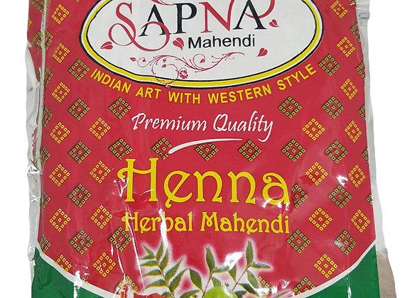 Henna powder (MEHNDI SAPNA powder)