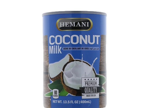 Canned coconut milk HEMANI