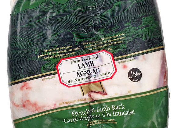 Lamb Rack Frenched Nz weighed by the KG- Kosher