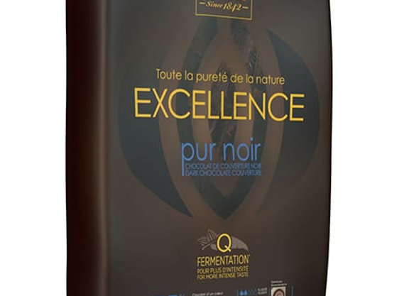 Dark Excellence Block 55% Couverture CACAO BARRY weighed by the KG-Kosher