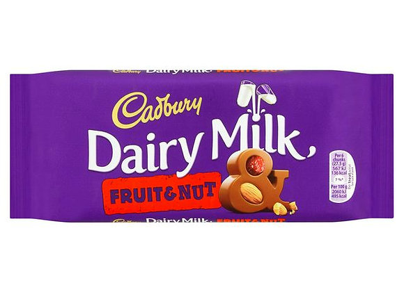 Cadbury  Fruit/Nut 110g