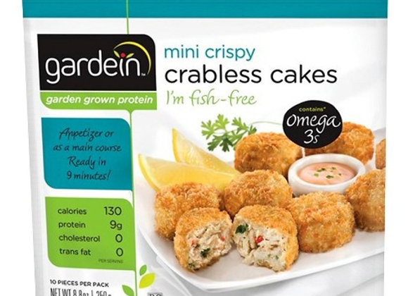 Crabless cakes GARDENIN