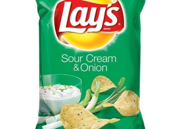 Lays Sour Cream 6.5oz
