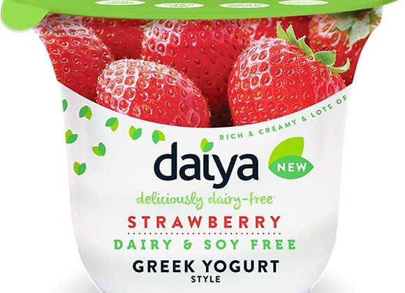 Soy free Strawberry greek Yogurt  DAIYA