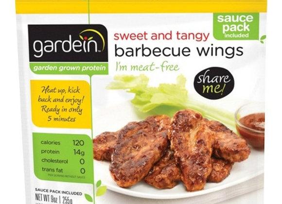 Sweet & tangy BBQ wings GARDENIN