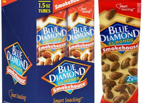 Smokehouse Almonds Snack Tube BLUE DIAMOND