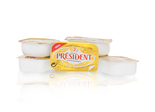 Unsalted Butter cup PRESIDENT