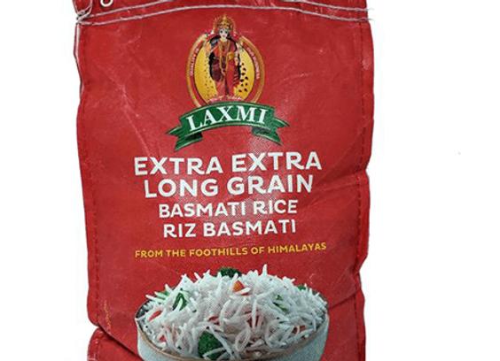 Basmati Rice Extra Long Grain LAXMI