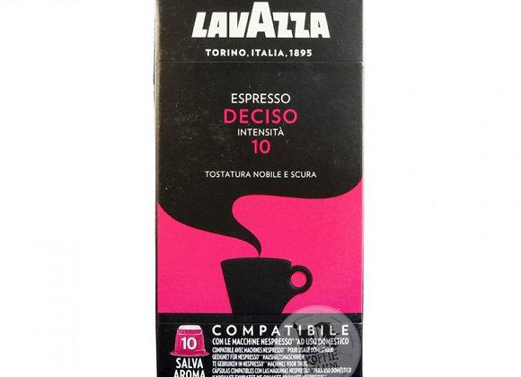 Espresso Deciso LAVAZZA (Nespresso Compatible) - Intensity 10