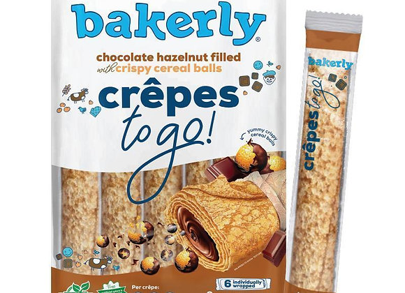 Crunchy crepes chocolate filled BAKERLY