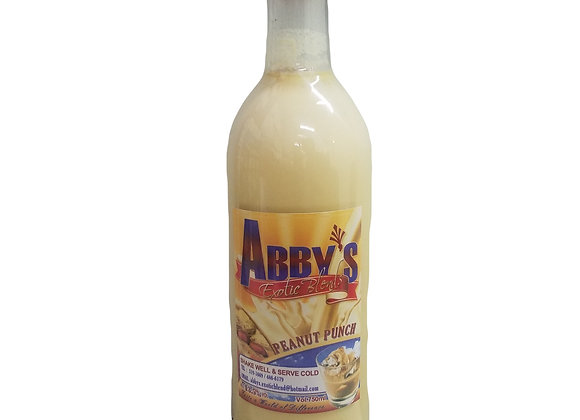 Peanut Rum Punch  13.5% alcohol ABBY'S EXOTIC BLENDS