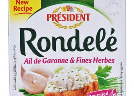 Rondele Garlic & Herbs PRESIDENT