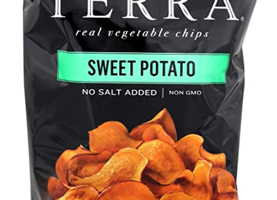 Sweet potato plain chips TERRA
