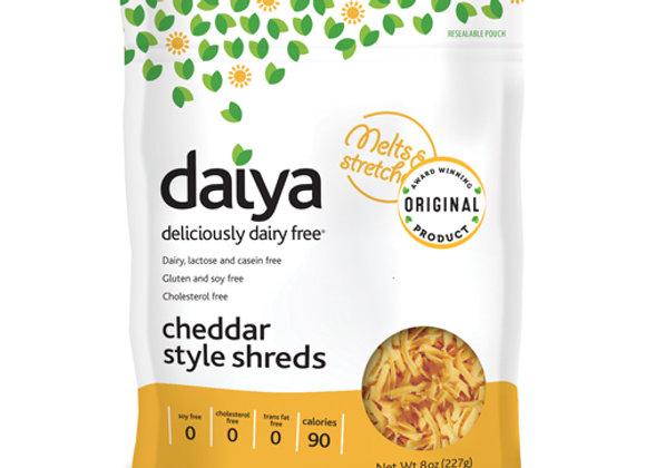 Vegan cheddar style shreds DAIYA