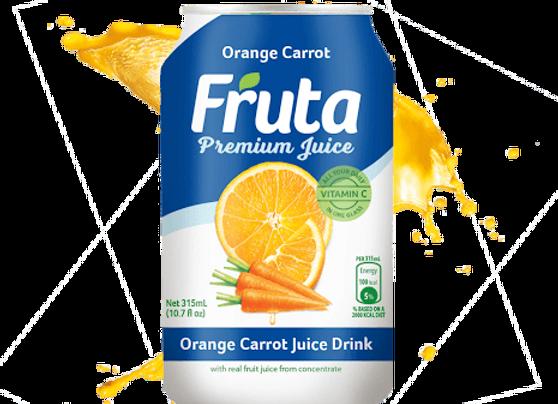Fruta O/Carrot Can 315ml