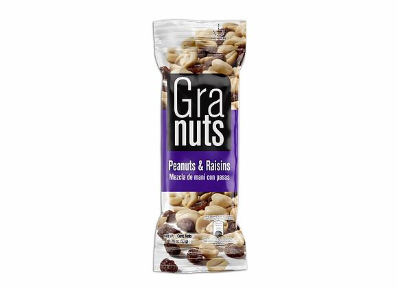 Granuts Peanuts and Raisin 50g