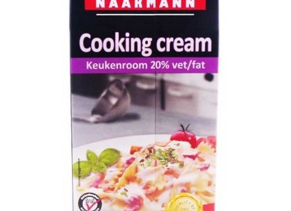 Cooking cream 20% screw cap NAARMANN