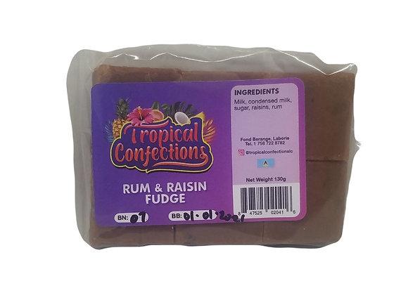 Rum & Raisin Fudge TROPICAL CONFECTIONS