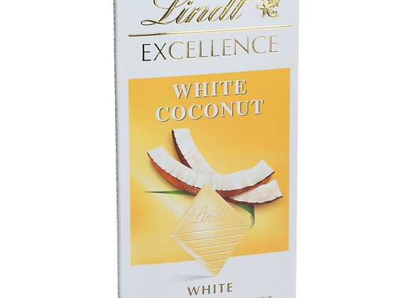 Lindt White Chocolate Coconut Bar LINDT