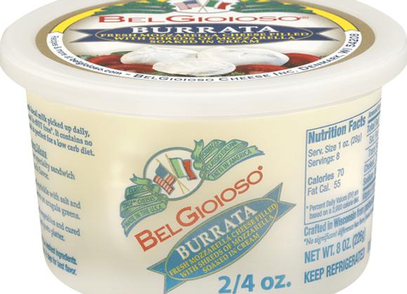 Burrata Mozzarella  (2/4oz balls/cup)   (Special order)