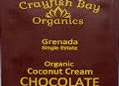 Organic chocolate coconut cream  (Grenada)