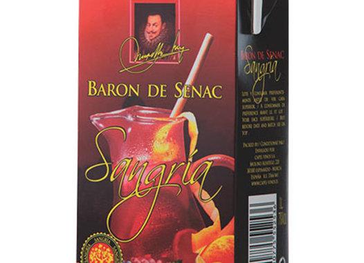 Sangria BARON DE SENAC - 7% Alc. tetra pack