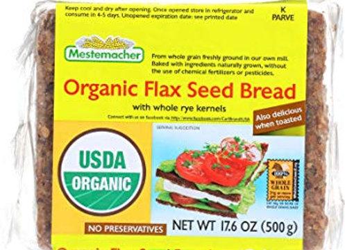 Organic Flaxseed bread -Kosher