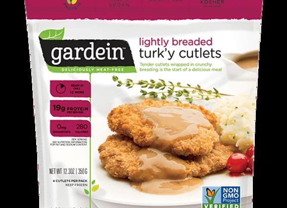 Light breaded turkey cutlets GARDENIN