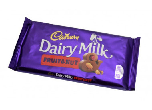 Cadbury Fruit And Nut 200g