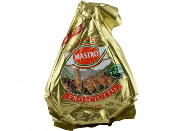 Proscuitto Ham Crudo Gold MAESTRO  - Boneless priced and weighed by the KG