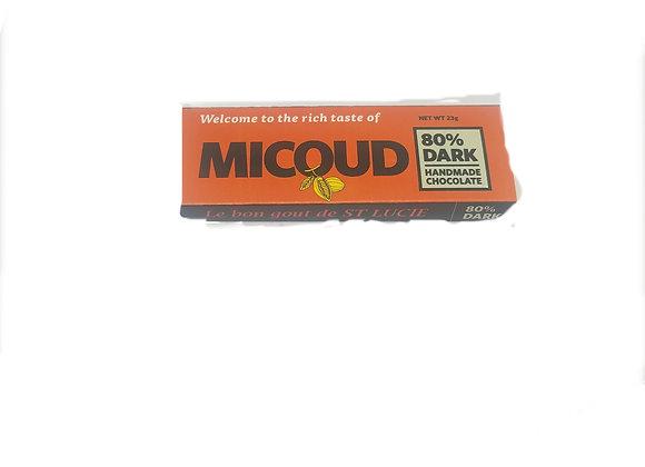 80% Dark Chocolate MICOUD