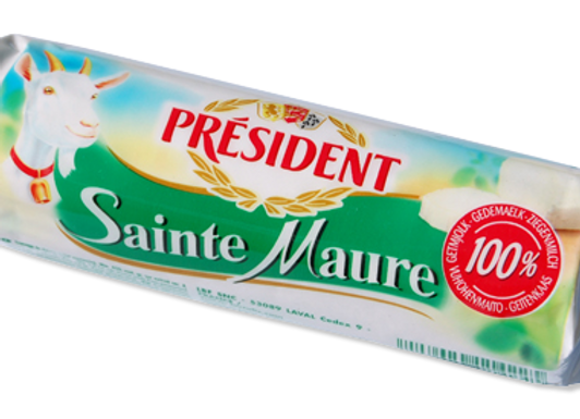 Ste Maure 100% Goat's Cheese PRESIDENT