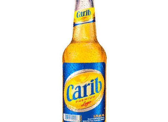 Carib beer bottle 275ml