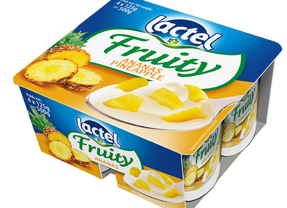 Dairy Dessert Long Life Pineapple LACTEL