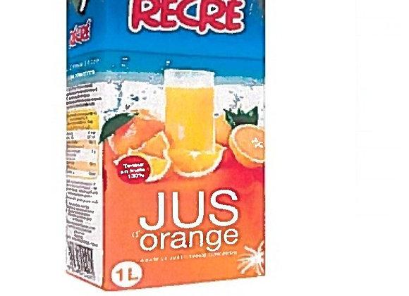 Orange Juice 100% RECRE