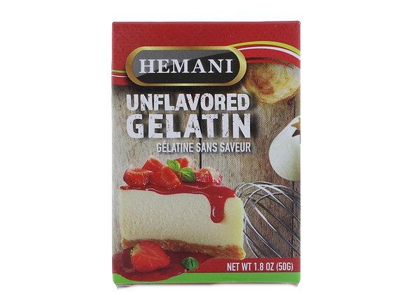Unflavored gelatin HEMANI
