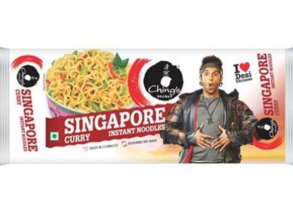 Singapore Curry instant noodles CHING'S