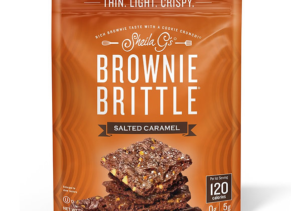 Brownie Brittle Salted Caramel SHAILA G'S