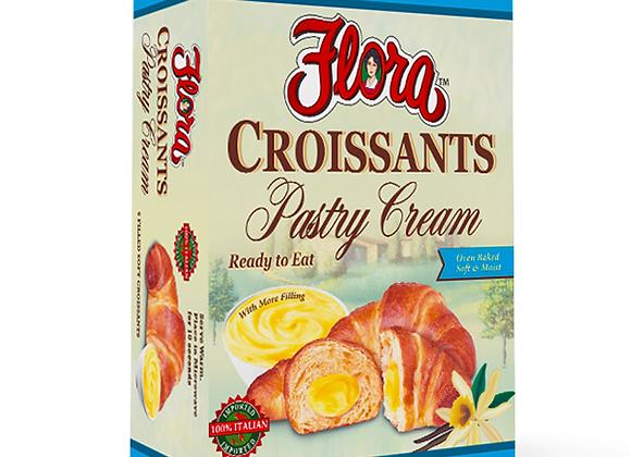 Croissant w/pastry Cream FLORA