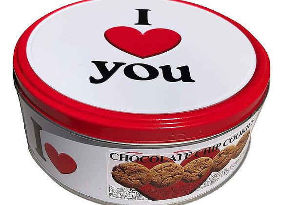 Danish Butter 'I Love You' butter cookies JACOBSENS