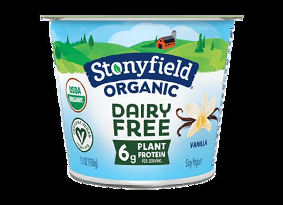 Soy Organic Vanilla Yogurt  STONYFIELD O'SOY
