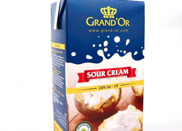 Sour Cream  GRAND'OR 24%