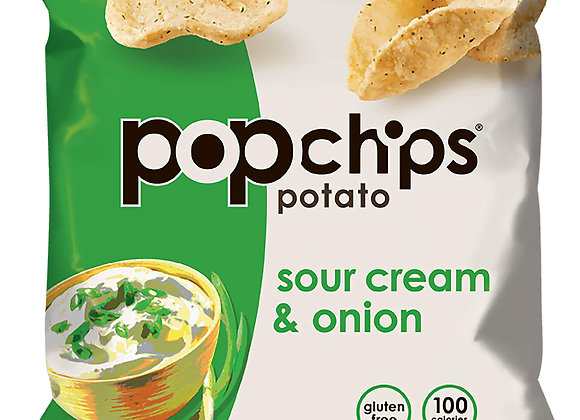 Sour Cream & Onion Chips POPCHIPS